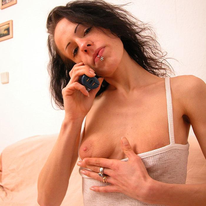 Versauter Mobil Telefonsex mit einer MILF